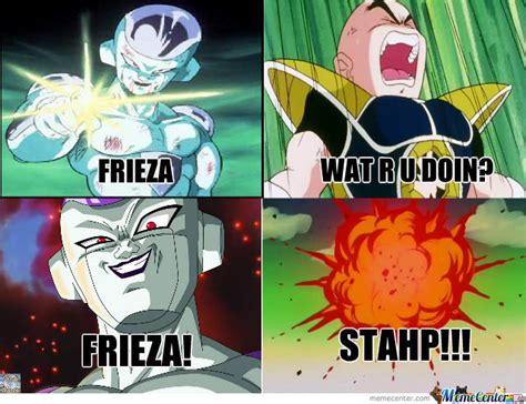 Frieza Memes - frieza wat r u doin by jcnewton93 meme center