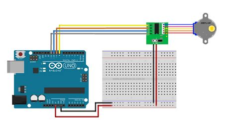 arduino accelstepper tutorial uln2003 stepper motor driver with 28byj 48 motor