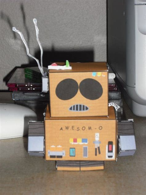 Awesome Papercraft - 12 best images about south park paper craft cube figures