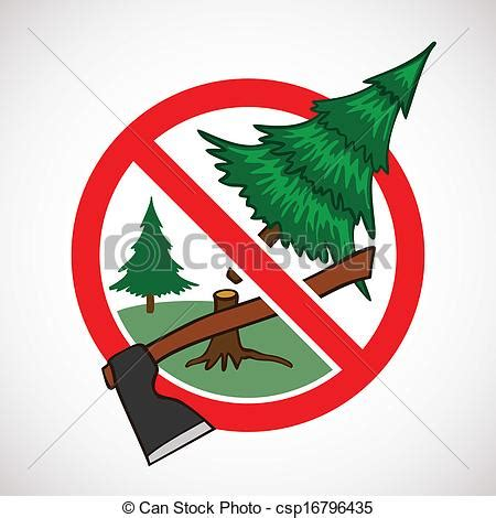 do not cut the tree to get the fruit do not cut clipart
