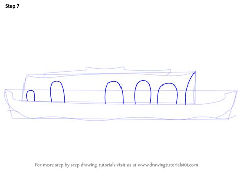 how to draw a boat house learn how to draw a boat house boats and ships step by