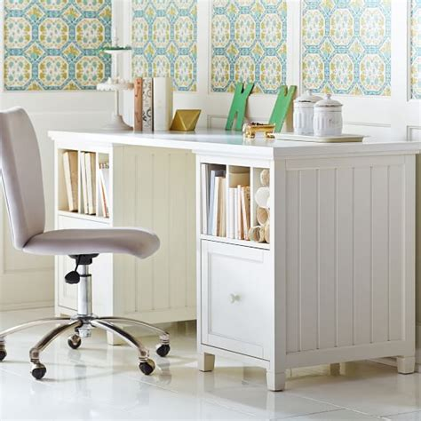 Room And Board Corner Desk by Beadboard Divider Desk Pbteen