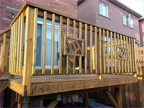 Build a deck railing home design ideas