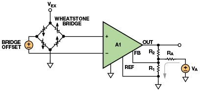 wheatstone bridge offset compensation stay out of water when designing with bridge sensors analog devices