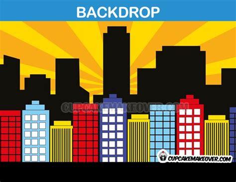 Skyscraper clipart superhero - Pencil and in color ... Free Clipart Cupcakes