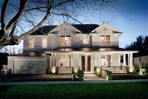 Luxury House Plans With Pools glen iris double storey hamptons style home canny