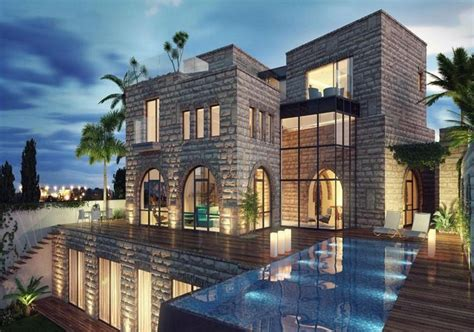 Building Home Floor Plans to be built jerusalem stone villa in israel homes of the