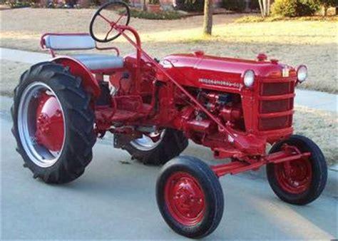 Antique Tractors 1955 International Cub Low Boy Picture
