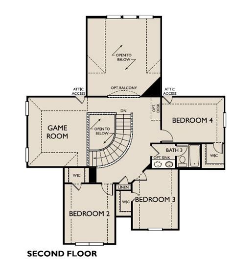 Cooper Floor Plans by Cooper New Home Plan For Fieldstone Community In Houston