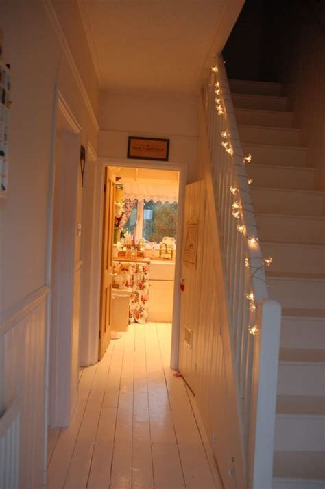 how to hang lights on stairs farmhouse style entry way in white farmhouse fresh