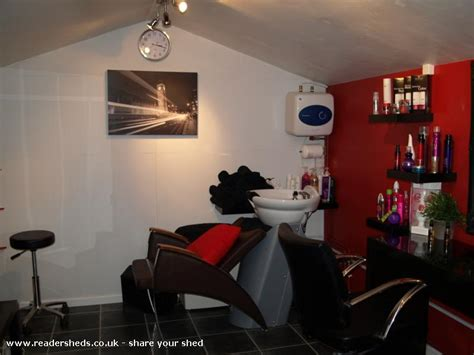 Shed Salon marc andrew hair salon from garden owned by marc sharp shedoftheyear