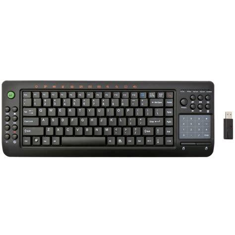 Smart Wireless Keyboard ortek wireless multimedia htpc keyboard with smart touchpad keypad ebay