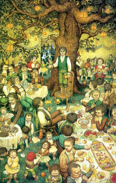 a tavola con gli hobbit la festa di bilbo la tavola di tom bombadil e la