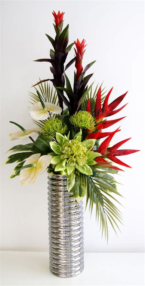 Floral Arrangements In Vases by Home Decoration Fabulous Artificial Floral