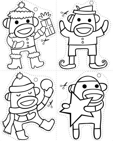 coloring pages sock monkey 301 moved permanently
