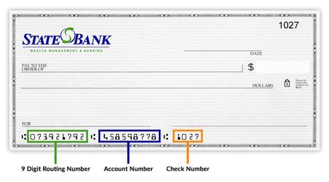 routing bank routing transit number
