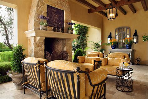 Mediterranean Home Decor | picture your life in tuscany in a mediterranean style home