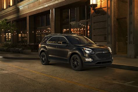Special Edition Black Trio Of Special Edition Crossovers Revealed By Gm News