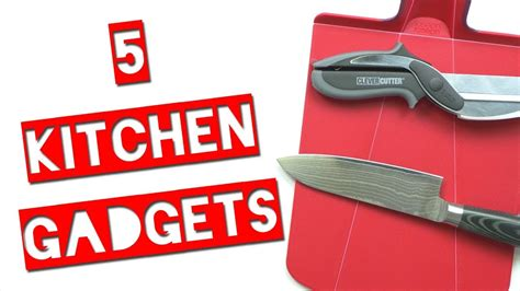 Cool Kitchen Gadgets Youtube | 5 cool kitchen gadgets youtube