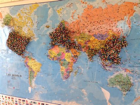 the world travels of map maps update 800600 travel world map with pins maps