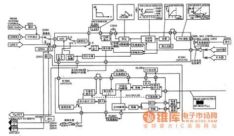 integrator circuit signal an33215s brightness signal processing integrated circuit signal processing circuit diagram