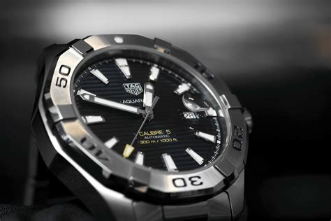 Tag Lookup Professional Watches Tag Heuer Aquaracer 300m With Steel Bezel On