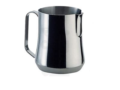 milk pitcher stainless steel with spout 25 oz