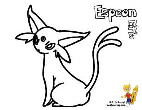 Pokemon Espeon Coloring Pages To Print Sketch Page sketch template
