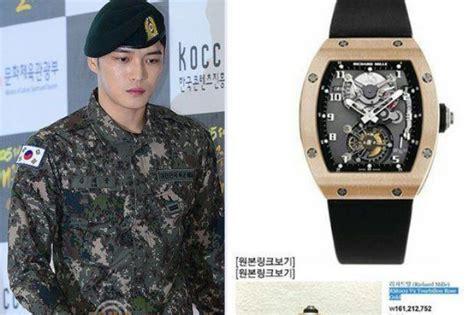 Jam Tangan Mewah Najib jaejoong dikritik tidak layak pakai jam tangan mewah k pop mstar