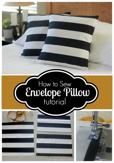 How To Sew A Throw Pillow Cover by 35 Diy Room Decor Ideas In Black And White Diy Projects For