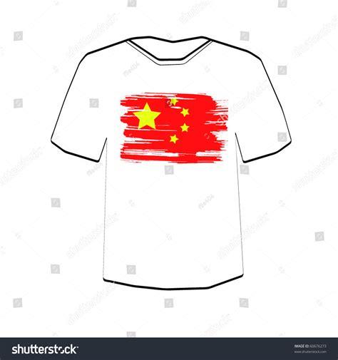 editable t shirt template flag tshirt design template editable stock vector