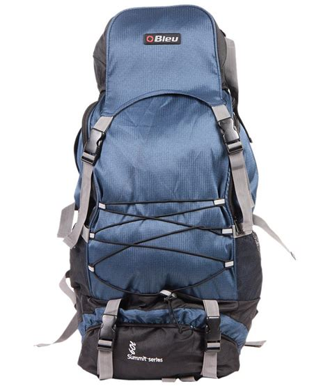 hiking rucksacks bleu blue black hiking rucksack buy bleu blue black