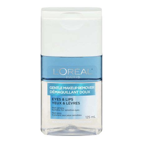 Loreal Eye And Lip Makeup Remover l or 233 al gentle waterproof eye and lip makeup remover