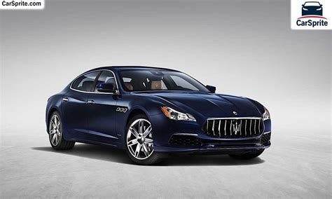 Maserati Quattroporte 2017 Prices And Specifications In