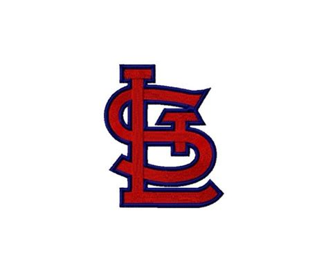 logo graphics st louis st louis cardinals logos package machine embroidery design