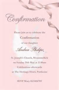 personalised confirmation invitations design 2
