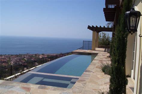 pools  spas infinity edge teserra outdoors palm