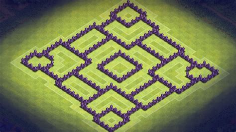 th8 layout new update clash of clans hybrid base newhairstylesformen2014 com