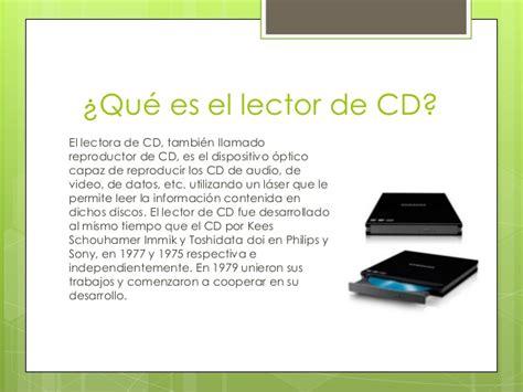el lector compactos anagrama lector de cd