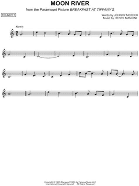 testo moon river quot moon river quot sheet 39 arrangements available