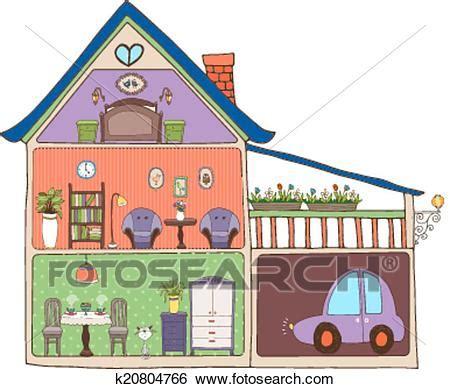 disegno interni clip casa interno disegno e decorazione k20804766