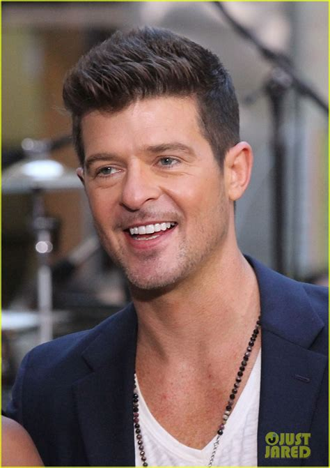 robin hecke robin thicke addresses blurred lines controversy on