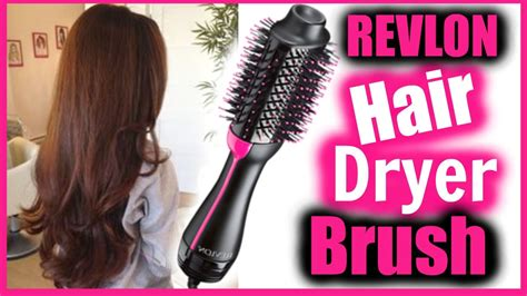 Hair Dryer Quit Working revlon hair dryer brush tutorial review does this work