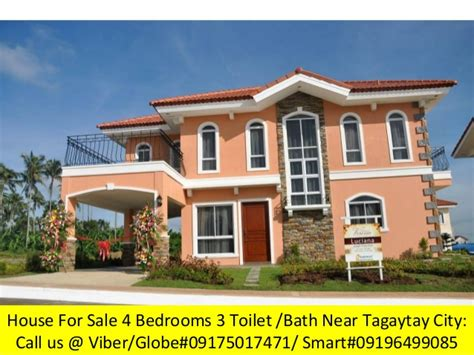 houses for sale in ta 4 bedrooms house and lot rush rush for sale near in tagaytay city vac