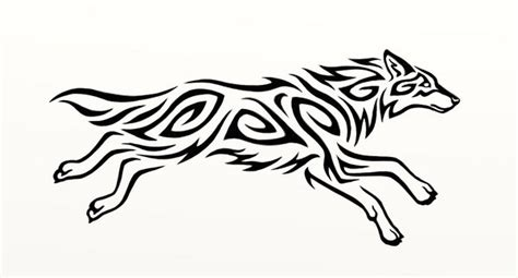 running wolf spiral by hareguizer on deviantart