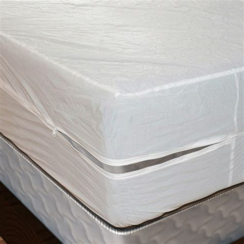 bed plastic cover the best vinyl plastic mattress cover w zipper