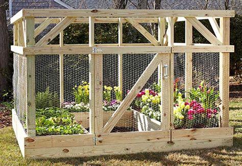 Vegetable Garden Enclosures How To Build A Garden Enclosure