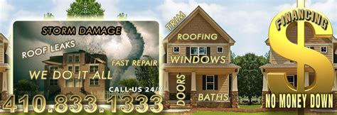 roofing siding windows trim bath door kitchen remodeling