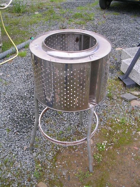 fuels backyard get together stainless steel garden incinerator patio heater from