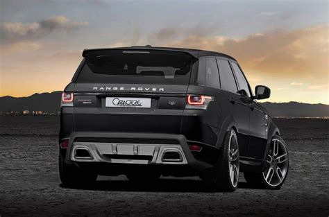 land rover sport custom range rover sport by caractere exclusive carz tuning